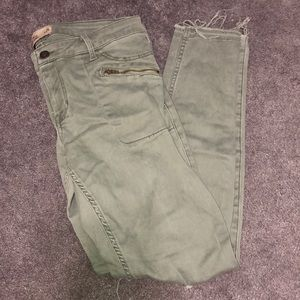 Army Green Hollister Jeans